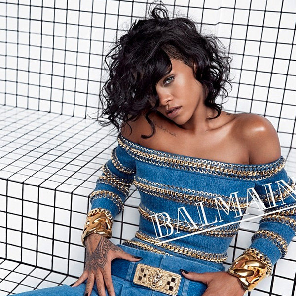 Rihanna For Balmain: The Pictures You HAVE To See