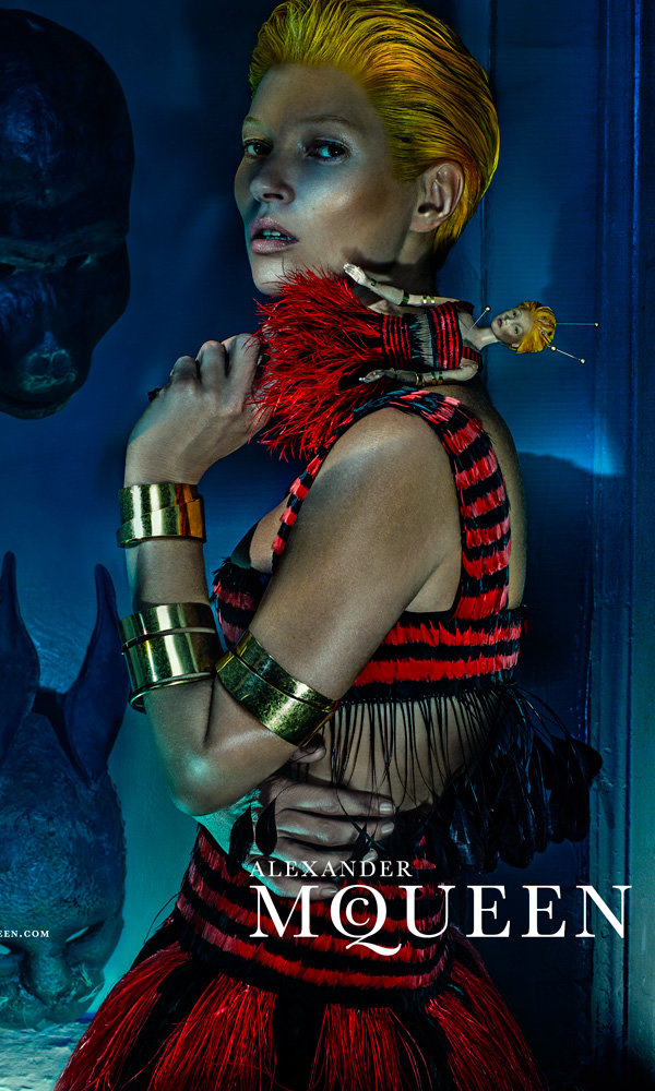 Kate Moss Makes Her Alexander McQueen Debut... And Has Never Looked Better