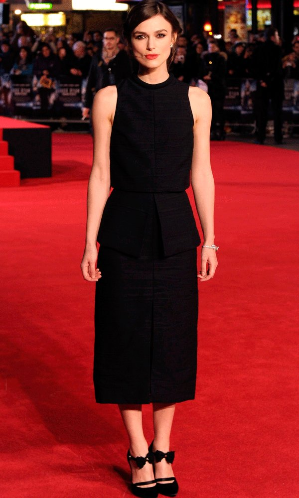 Keira Knightley Proves Why She's Our Ultimate Red Carpet Crush At The Jack Ryan Premiere