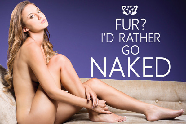Made In Chelsea Star Lucy Watson Bares All For PETA