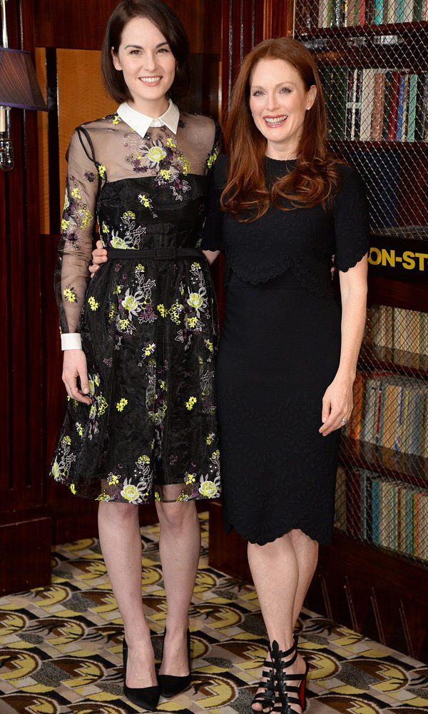 Michelle Dockery Completes Her Hollywood Transformation In Erdem