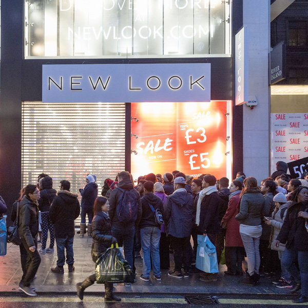New Look Continues To Reign The High Street Thanks To Christmas Sales