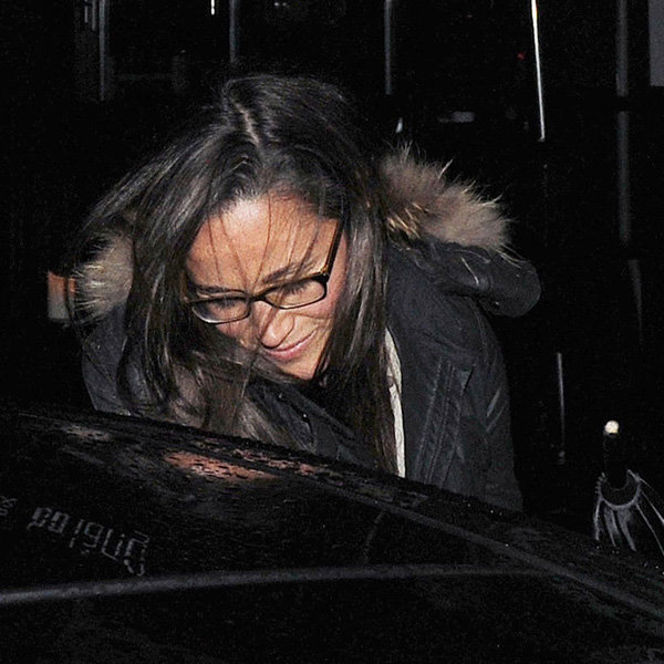 Pippa Middleton Braves The Rain For Date Night With Nico Jackson