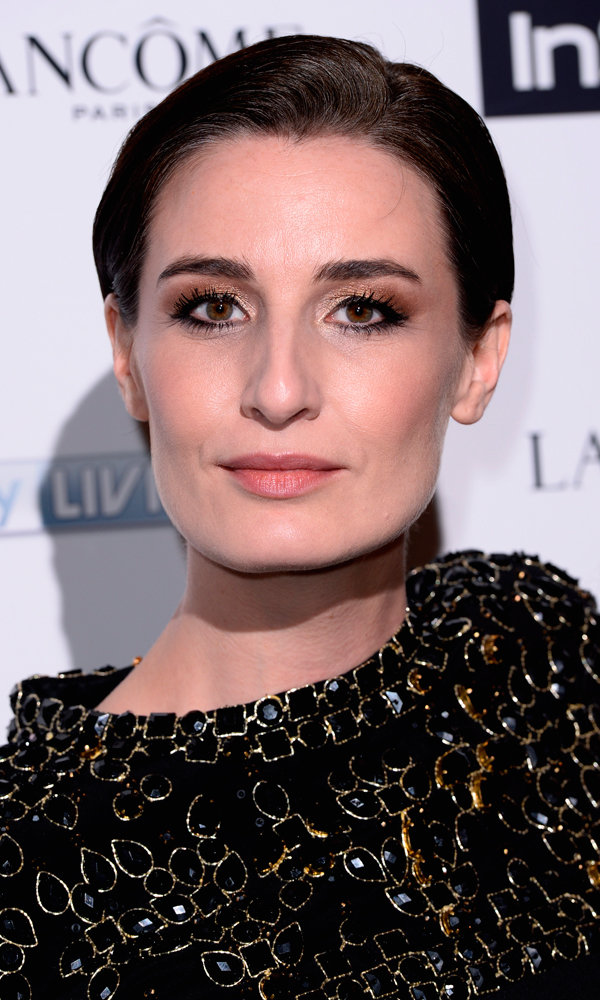 Get Erin O'Connor's Gorgeous InStyle Bafta Party Glow