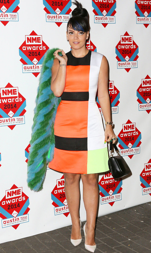 Lily Allen Wins Big At NME Awards 2014