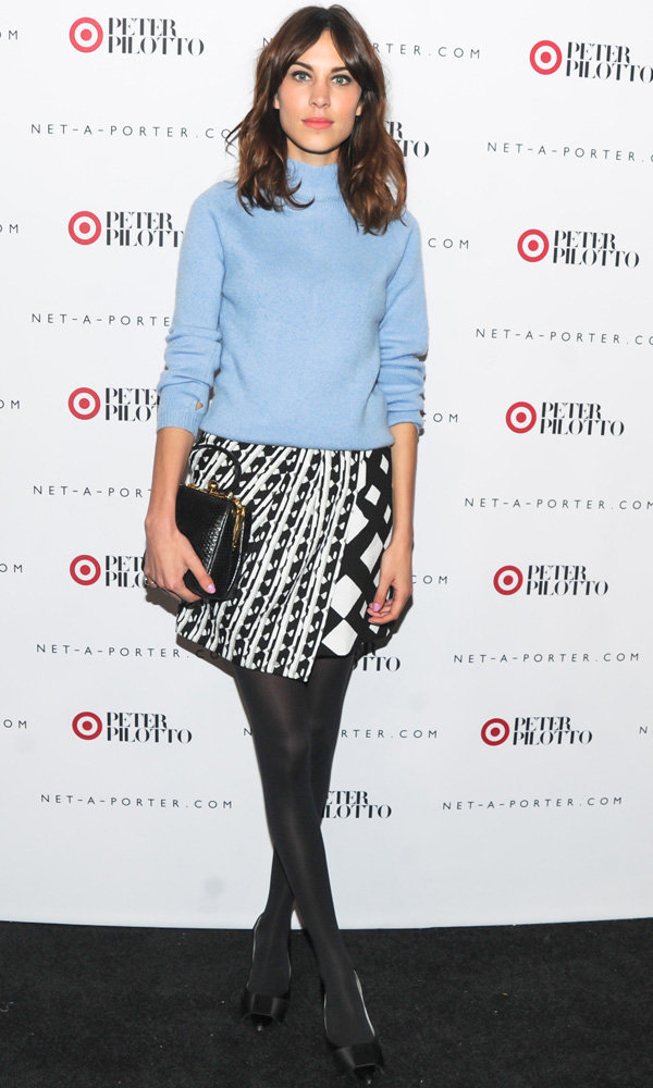 Alexa Chung And Diane Kruger Model Peter Pilotto For Target