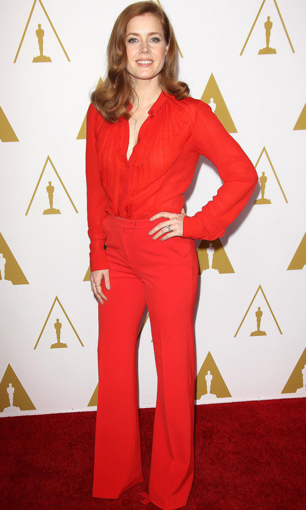 Amy Adams Channels American Hustle Style On The Red Carpet