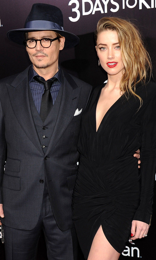 Johnny Depp And Amber Heard Look Loved-Up On The Red Carpet