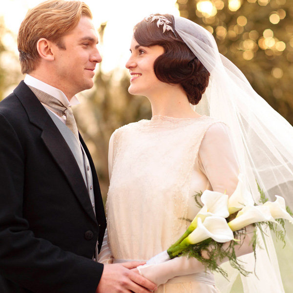 Have A Downton Abbey Wedding – With Lady Mary's Diamond Tiara
