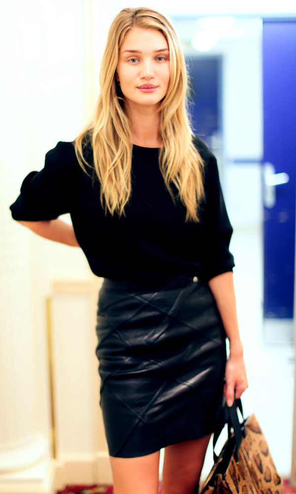 Rosie Huntington-Whiteley Hints At A Very Exciting Future