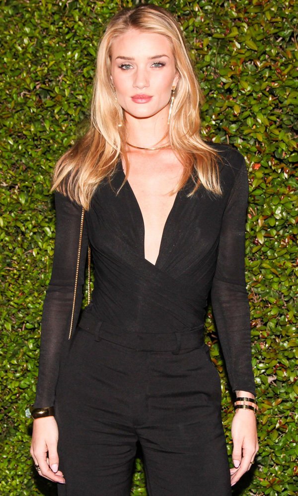 Rosie Huntington-Whiteley Shares Her Tips For Valentine's Day