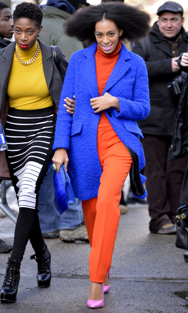 Solange Knowles Is Our Street Style Queen At New York Fashion Week