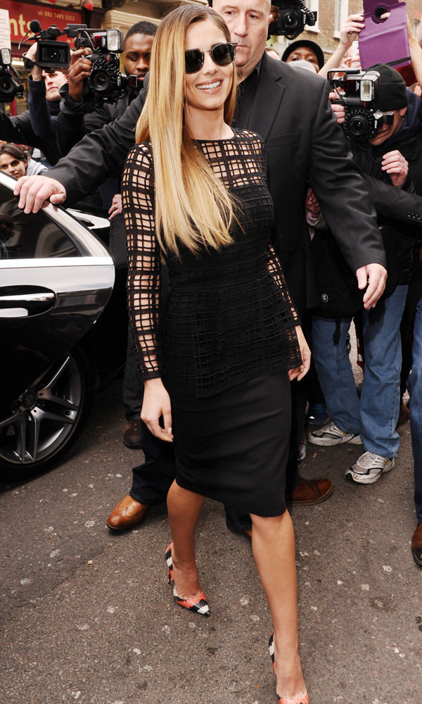 Cheryl Cole Steps Out In Her First X Factor Outfit