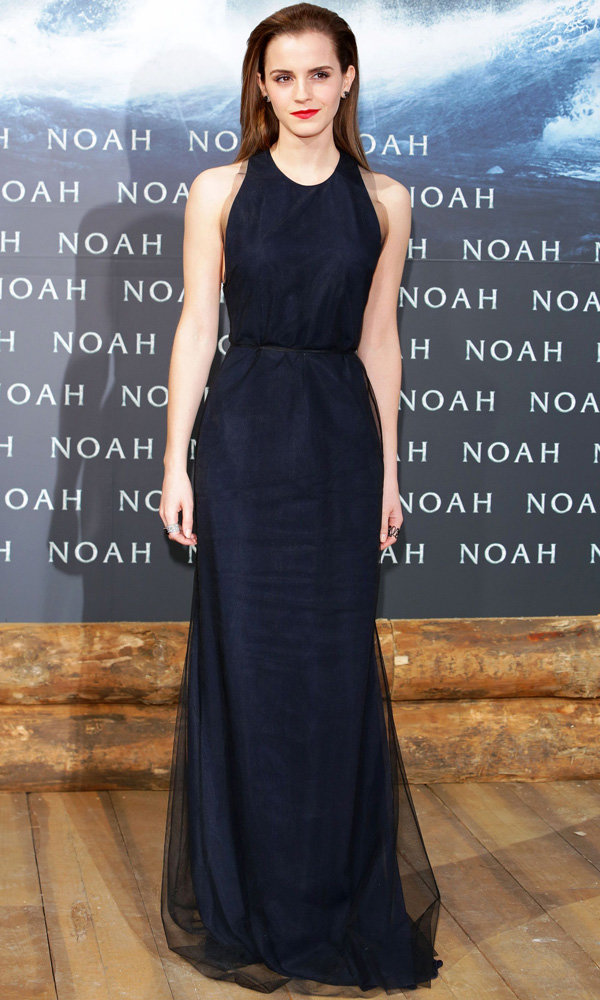 Emma Watson Does Grown Up Glamour At Noah Premiere