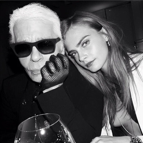 Karl Lagerfeld Does Not Think Cara Delevingne Has A Beautiful Face