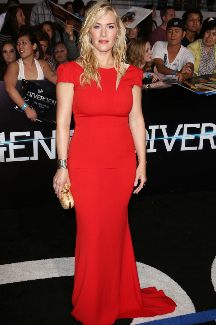 Kate Winslet Makes Her First Red Carpet Appearance After Birth Of Son Bear