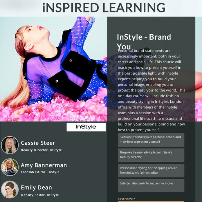 Do You Want Expert Styling And Beauty Advice From The InStyle Team? Here's Your Chance