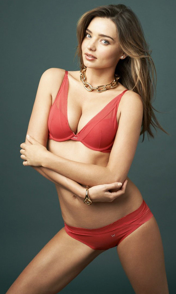 Miranda Kerr Is The New Face Of Wonderbra