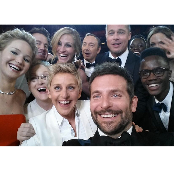 See The Star-Studded Oscars 2014 Selfie That's Smashed Twitter Records
