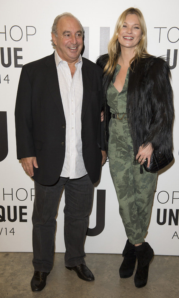 Kate Moss's New Topshop Collection Is The Best Yet, Says Philip Green