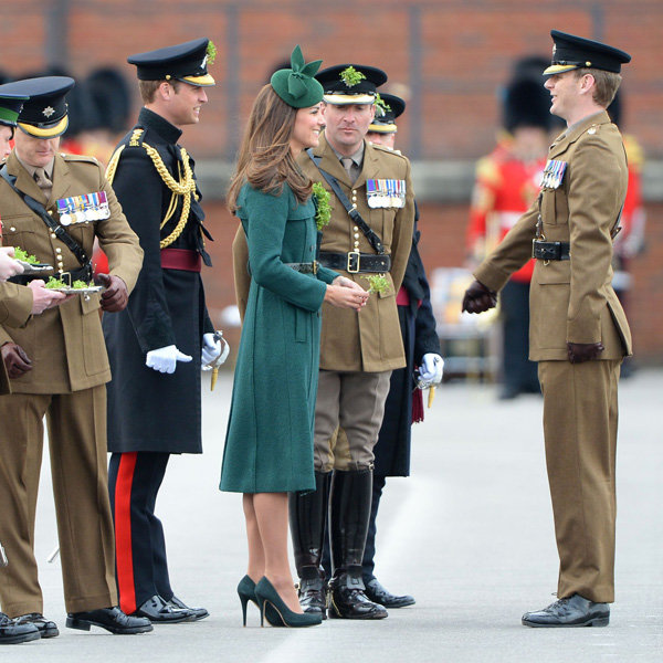 Kate Middleton Wears Cut-Price High Street Coat For St Patrick's Day Parade