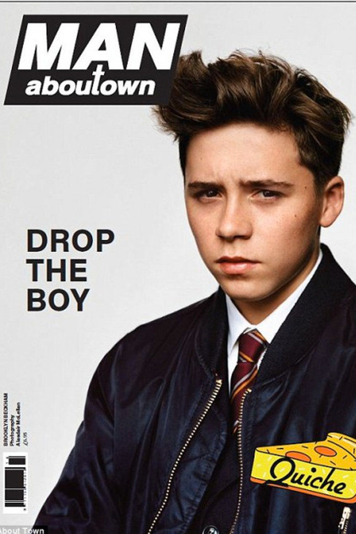 Brooklyn Beckham Turns Model For His First Magazine Cover