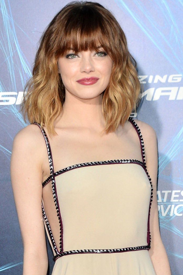 Emma Stone Debuts A New Full Fringe In New York