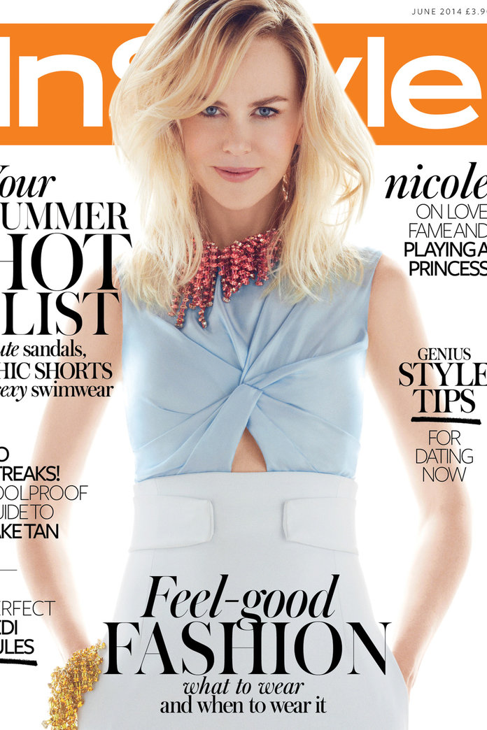 5 Things We Learned About Nicole Kidman From This Month's InStyle