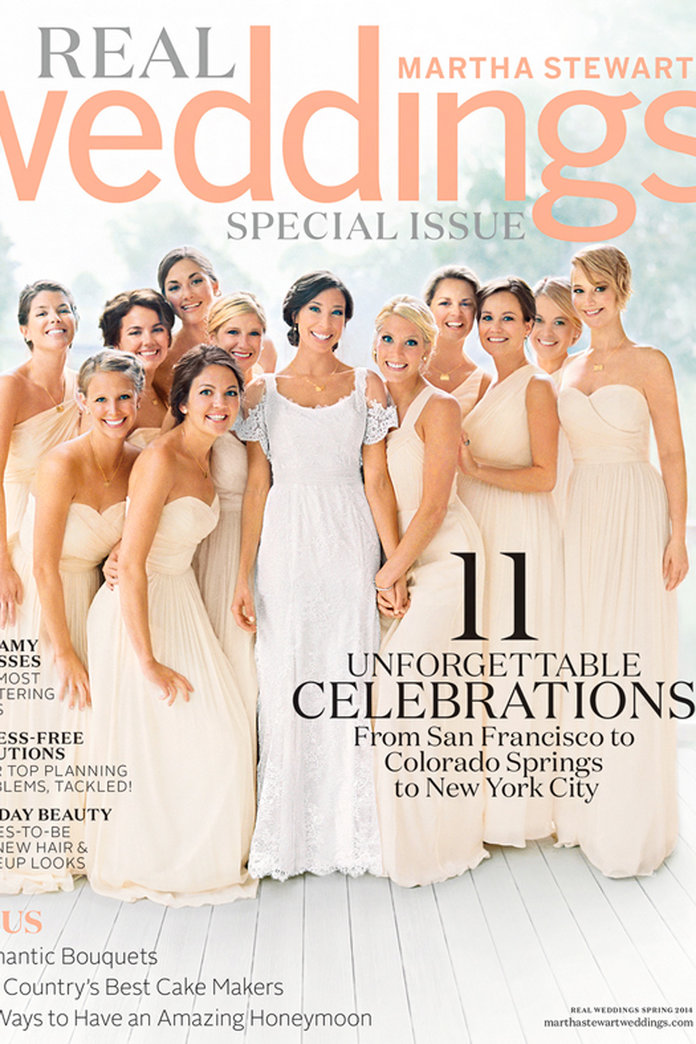 Jennifer Lawrence Wears J. Crew For Her First Wedding Magazine Cover