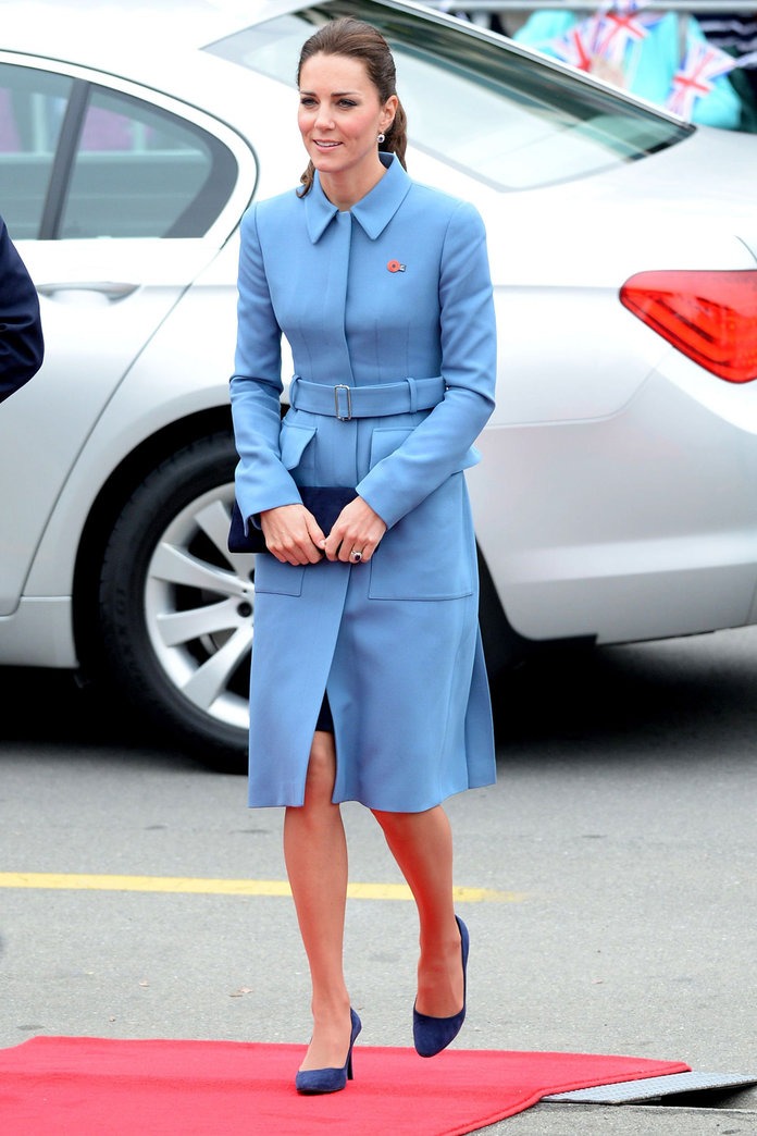 Kate Middleton Wears Alexander McQueen For Royal Tour Engagement