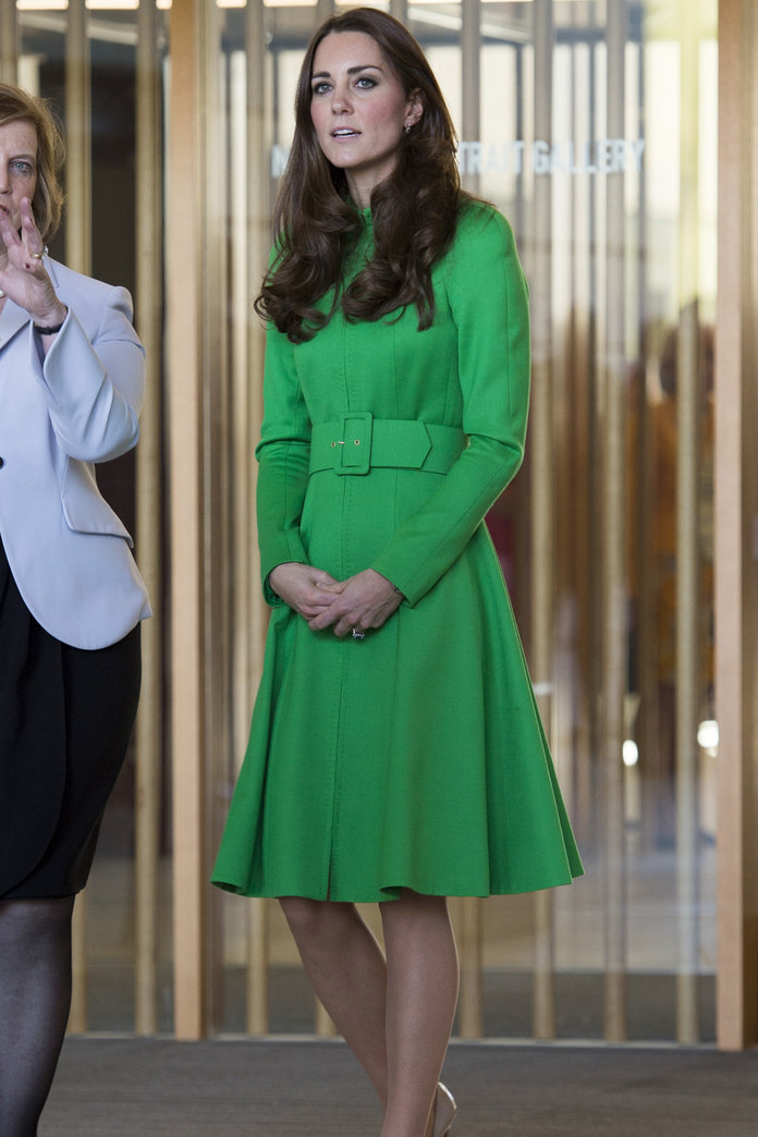 Kate Middleton Wears Catherine Walker As The Royal Tour Draws To A Close