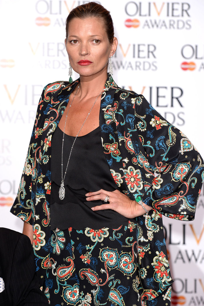 Kate Moss Shows You How To Style Up Her Topshop Collection