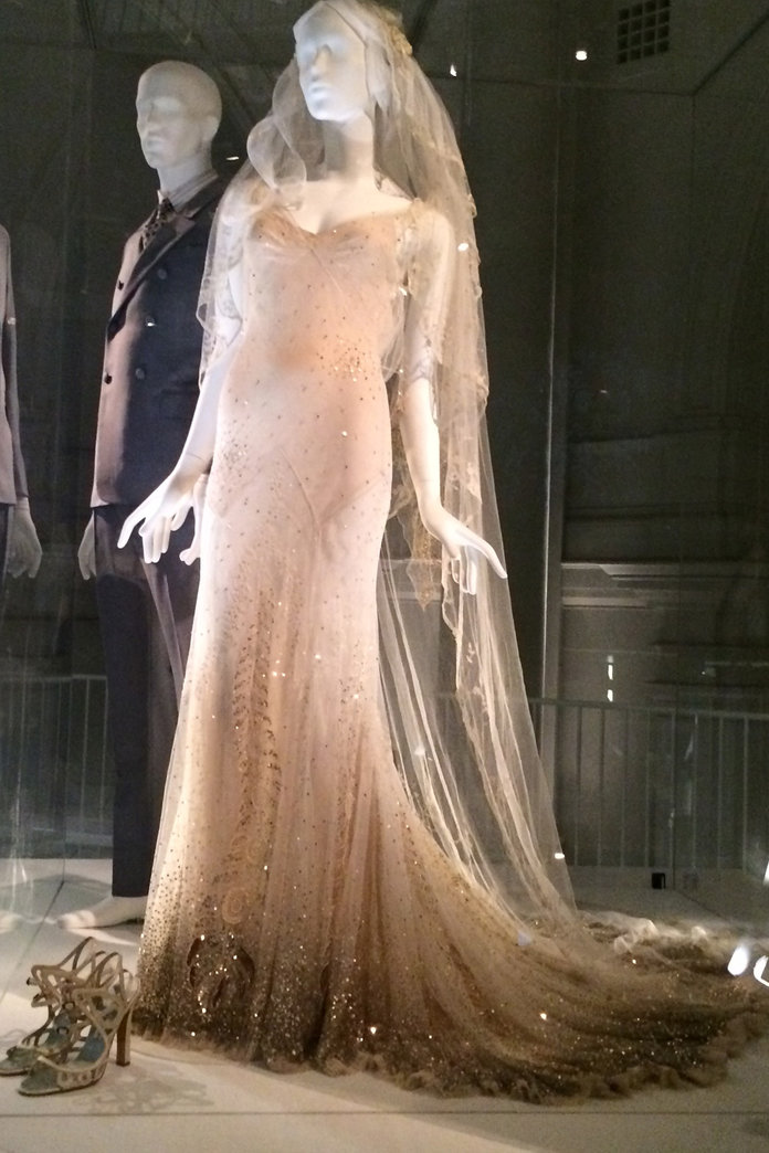 Kate Moss's Galliano Wedding Dress Goes On Display At The V&A