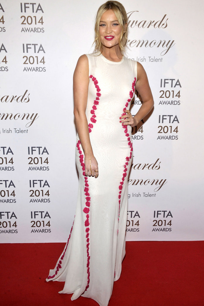 Laura Whitmore Steals The Show At The 2014 Irish Film and Television Awards