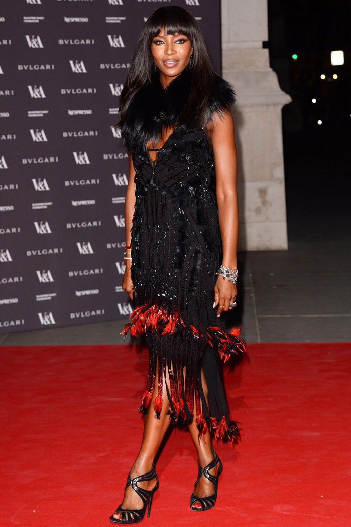 Roberto Cavalli Is The Designer Of Choice On The V&A Red Carpet