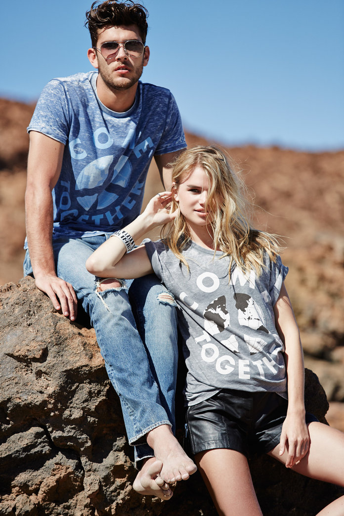 River Island Collaborates With War Child On New Charity T Shirt