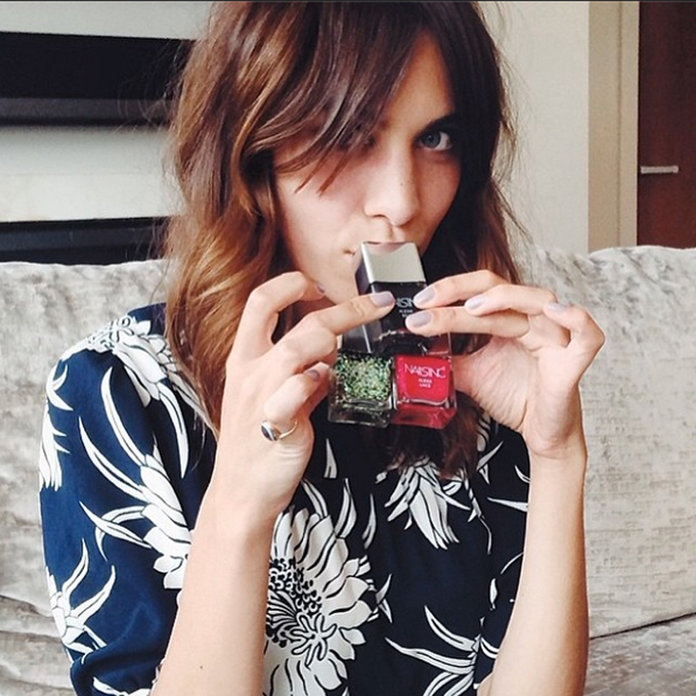 Alexa Chung And Nails Inc Are About To Make Your Hands Very Happy