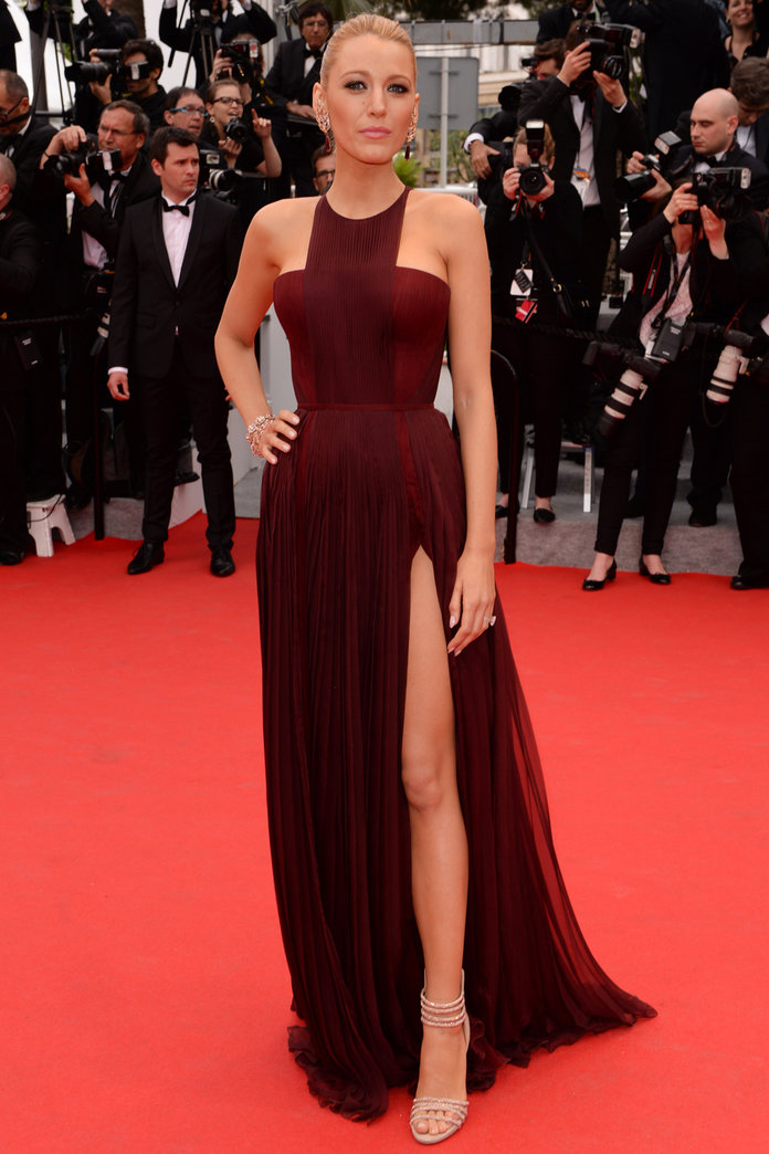 Blake Lively Wows in Gucci At Cannes 2015