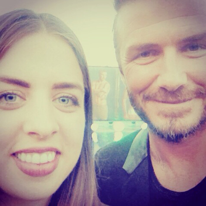 Our Night Out With David Beckham