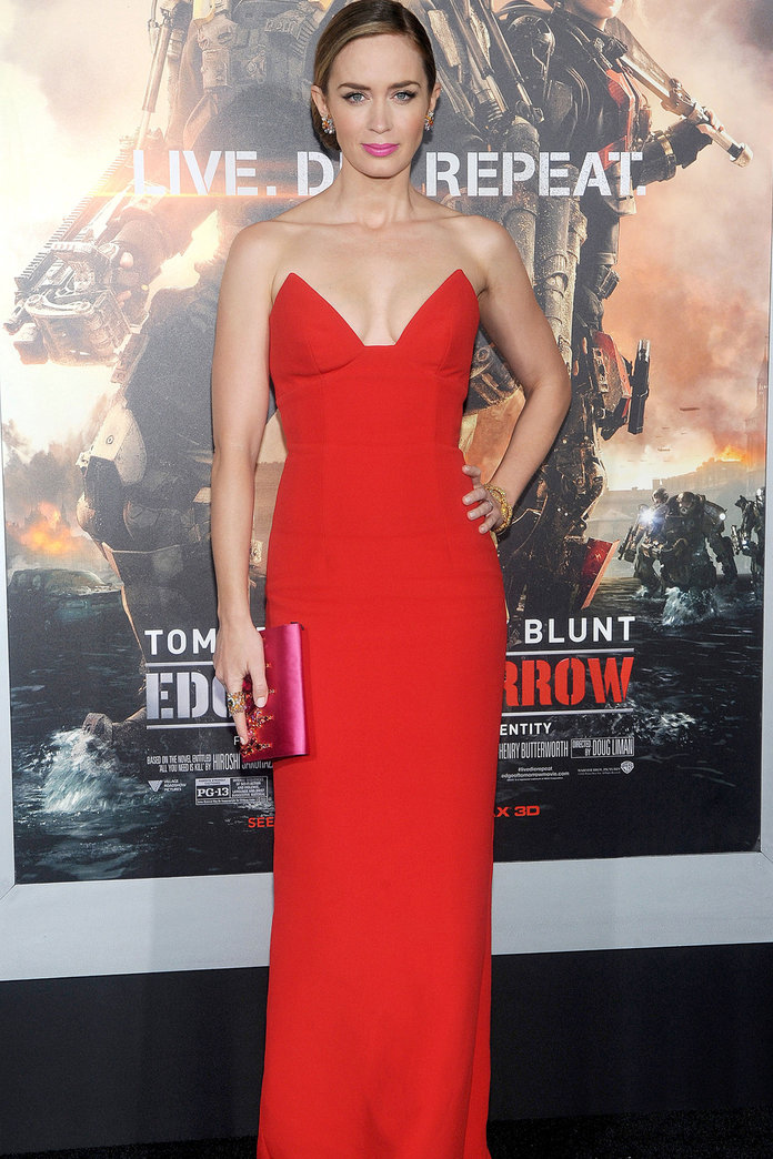 Why Emily Blunt Is Our New Red Carpet Crush