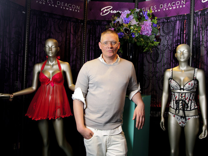 Giles Deacon Talks Underwear And Ann Summers Parties