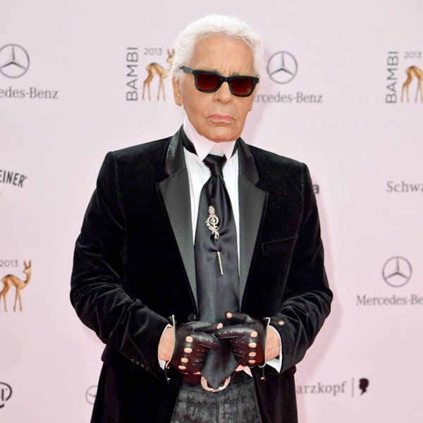 Karl Lagerfeld Shares His Secret To Staying Young