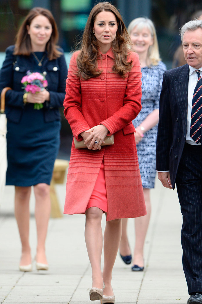 Kate Middleton Steps Out In Jonathan Saunders For A Royal Date In Scotland