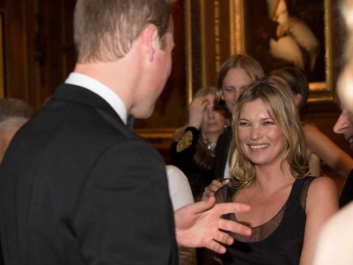 Kate Moss Has A Giggle With Prince William At Windsor Castle