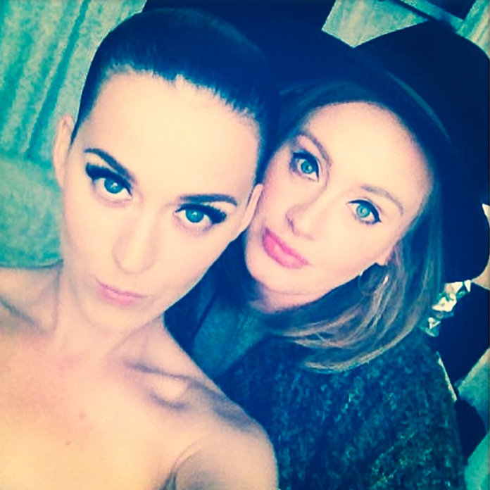 Adele And Katy Perry's Adorable Selfie