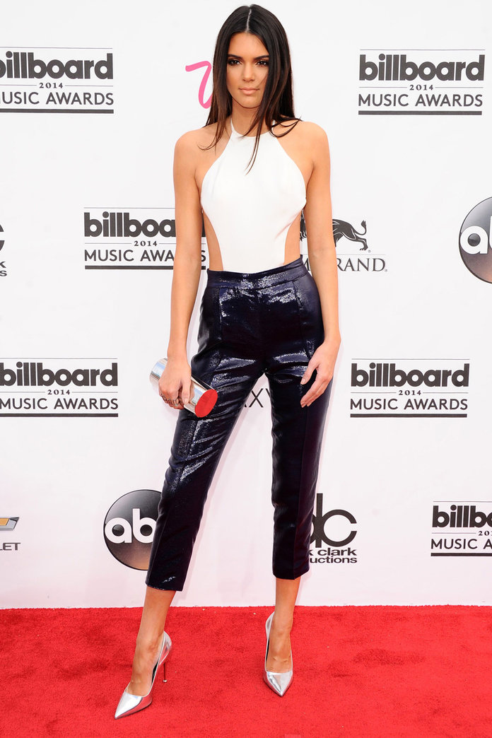 Kendall Jenner Vamps It Up In Metallics At The Billboard Awards