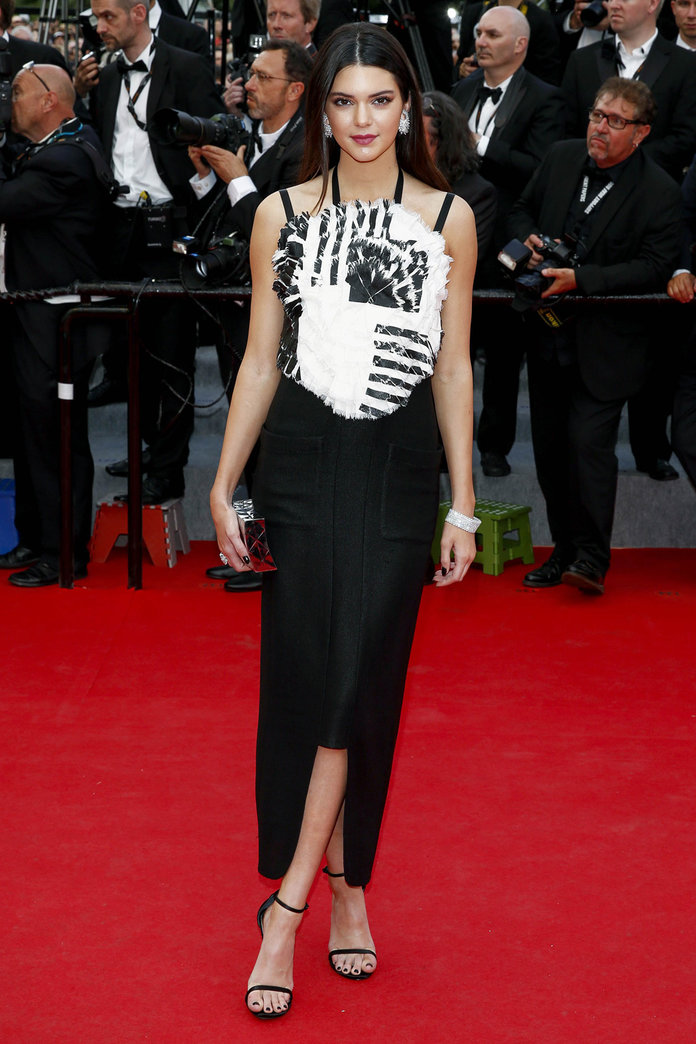 Kendall Jenner Hits The Cannes 2014 Red Carpet