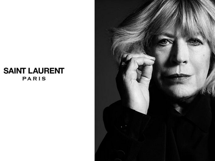 Saint Laurent Casts Marianne Faithful As The Face Of Its New Music Project