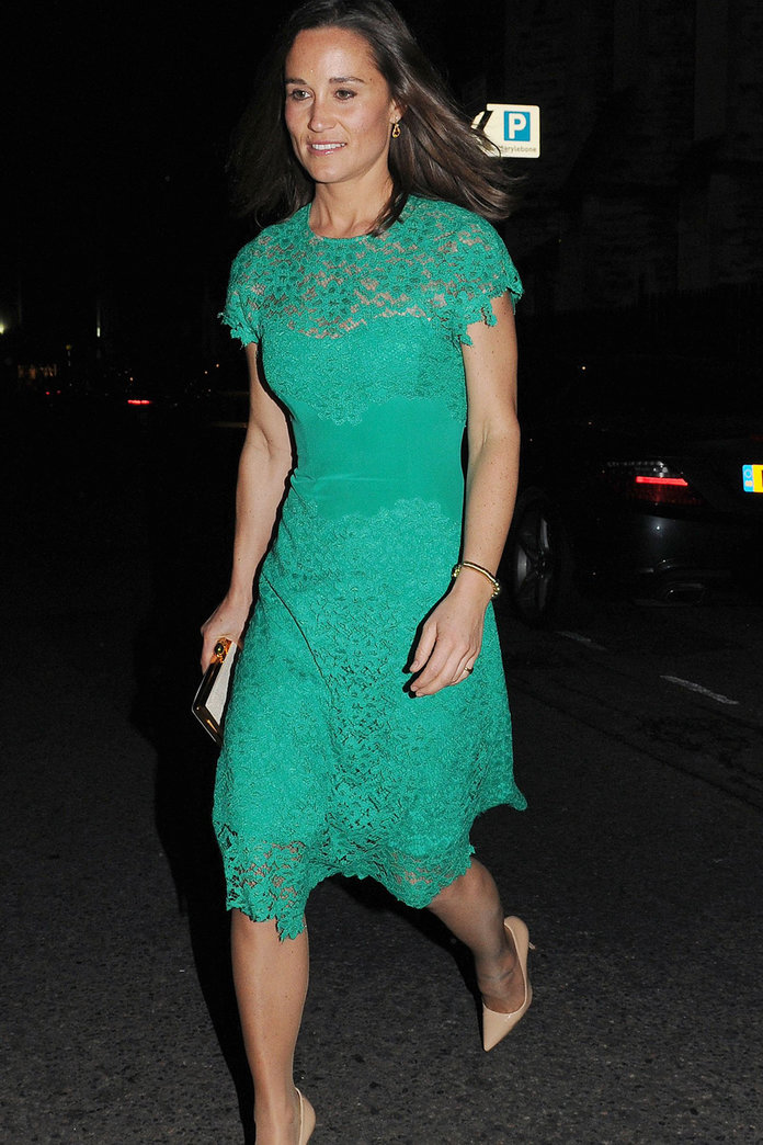 Pippa Middleton Looks To Favourite Designer Tabitha Webb For Family Night Out
