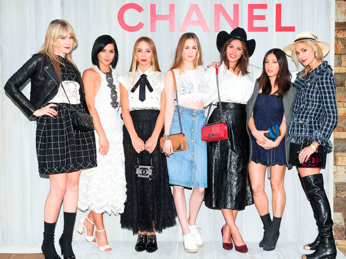 Chanel's Aspen Takeover: Fashion's Coolest Girls Touch Down For Pop-Up Shop Opening